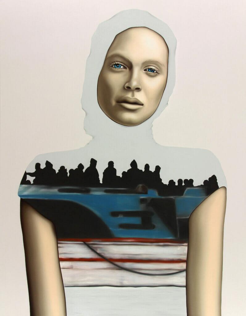Floating, 297x210mm, Giclee Print auf Hahnemuehle Fine Art Paper 300gms, Limited Edition Nummeriert und Signiert
