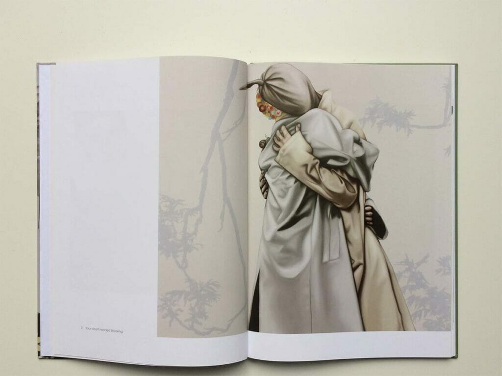 Sandra Ackermann, Floating, Hardcover, 80 Pages