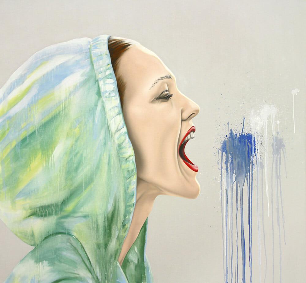 Vanishing, 140x150cm, Oil on Canvas, 2011